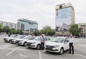 Ветеранским организациям Краснодара подарили пять новых автомобилей